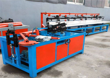 2m - 6m Semi Automatic Diamond Chain Link Fence Machine 1.7 T-1.9T 20-150 M2/H