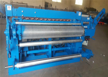 5.5kw Galvanized Wire Mesh Roll Welding Machine Electric Motor PLC Controlled