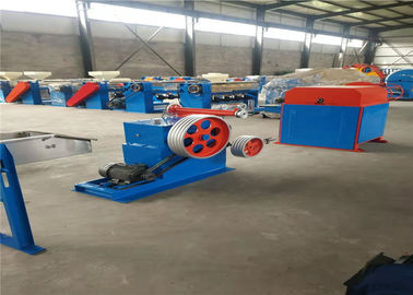 Green Color PVC Wire Coating Equipment , PVC Coating Line High Performance